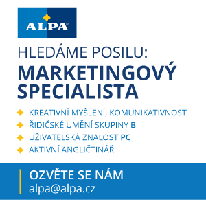 ALPA, a.s. - MARKETINGOVÝ SPECIALISTA